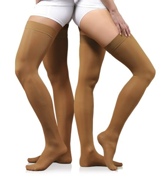 Medicininės elastingos kompresinės kojinės ELAST 0402, profilaktika (10-18 mm Hg.)