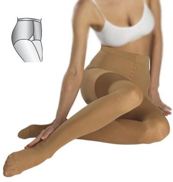Medicininės elastinės kompresinės pėdkelnės ELAST 0404, I k.k. (18-21 mm Hg)