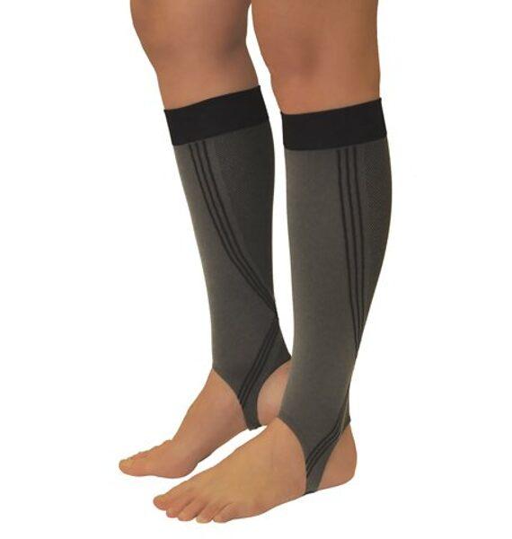 Medicininės elastinės kompresinės puskojinės su pėdos juosta ELAST 0408-02 ACTIV, I k.k. (18-21 mm Hg)