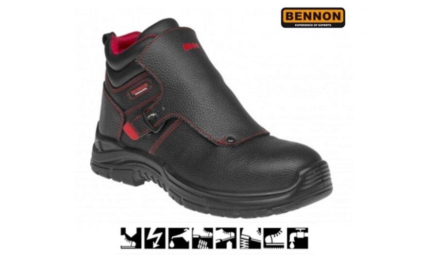 Suvirintojų darbo batai WELDER S3 HRO